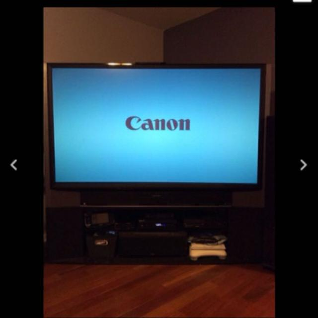 Best 73 Inch Mitsubishi 3d Dlp! Tv Like New Make Offer!!! for sale