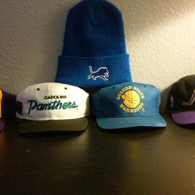 cc3d1491 Best Vintage Sports Specialties, Starter And Drew Pearson Snapbacks W/  Vintage Lions Beanie for sale in Temecula, California for 2019