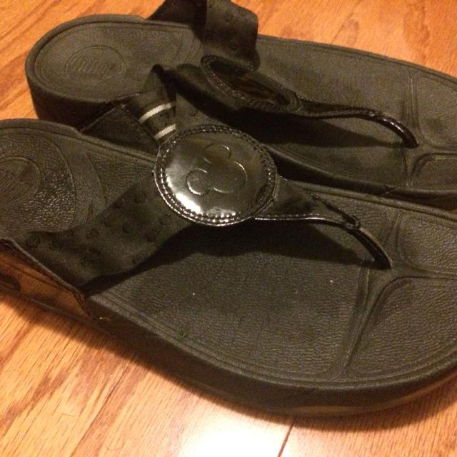 416783d7bc4 Find more Black Fitflops With Mickey Mouse Design! Euc. Got From ...