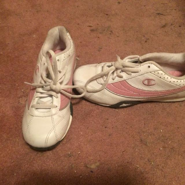 6304290af Best Girls Pink And White Champion Sneakers. Sz 3. Swap Only. for sale in  Metairie