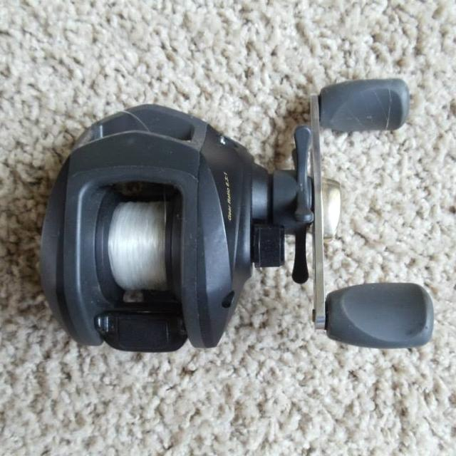 Best Half Price Sale! Shakespeare Baitcasting Reel With Line for