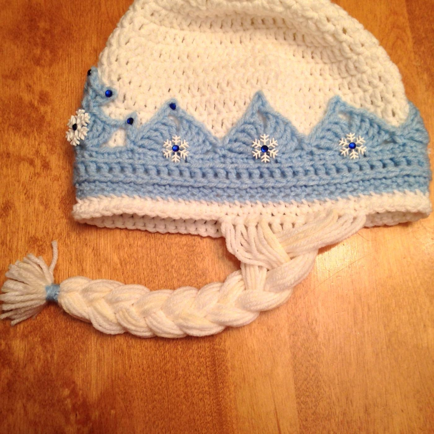 Find More Frozen Inspired Crochet Hat Elsa For Sale At Up To 90
