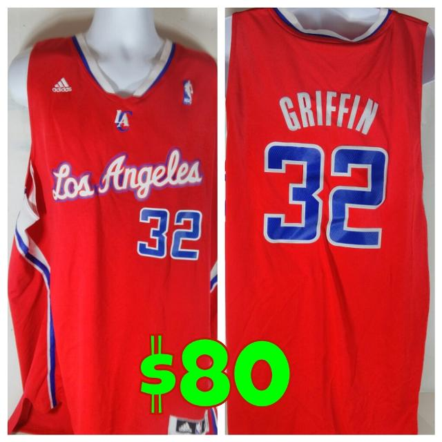 quality design 8a54a d7e41 Authentic Blake Griffin NBA LA Clippers Away Jersey Size 2XL