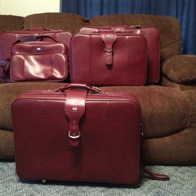 6d236548e Best Vintage Five Piece American Tourister Luggage Set for sale in  Weatherford, Texas for 2019