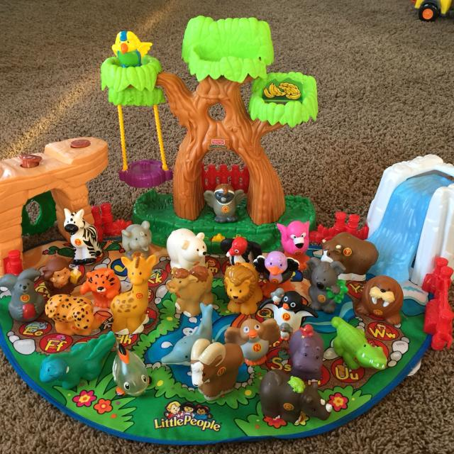 Best Little People Alphabet Animals...$20.00 for sale in Lake Geneva ...