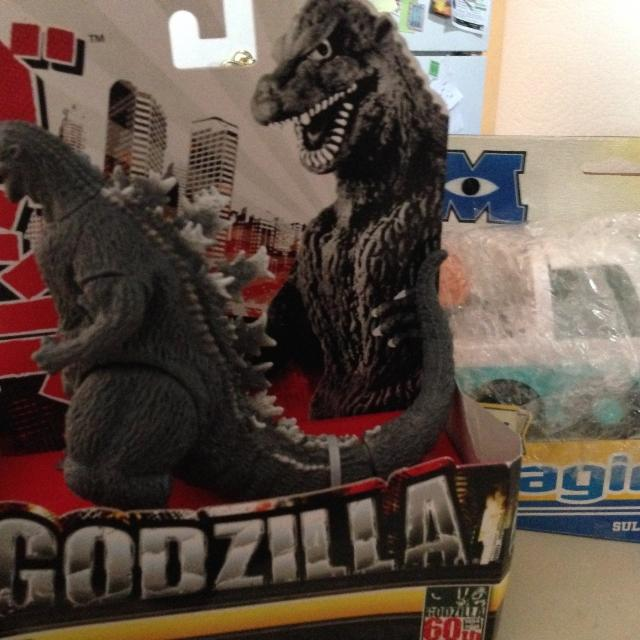 best new 2 toys one price godzilla imaginext sulley truck for sale in highlands ranch. Black Bedroom Furniture Sets. Home Design Ideas