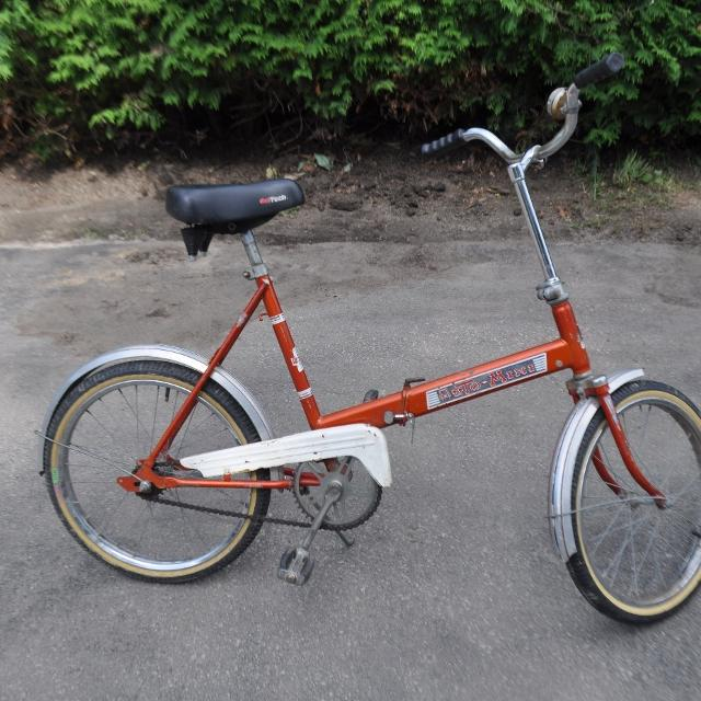 Find More Vintage Auto Mini Collectable Folding Bike For Sale At Up