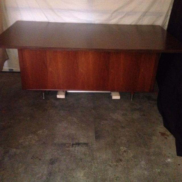 Best Vintage Mid Century Modern Desk Alma Administrator Series With Chair Pick Up In Murfreesboro Near Cason Lane For Tennessee