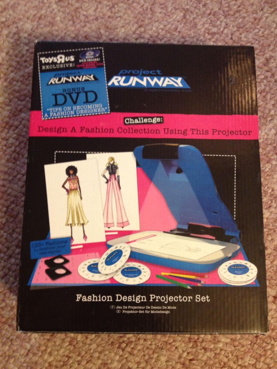Find More Project Runway Fashion Design Projection Set For Sale At Up To 90 Off