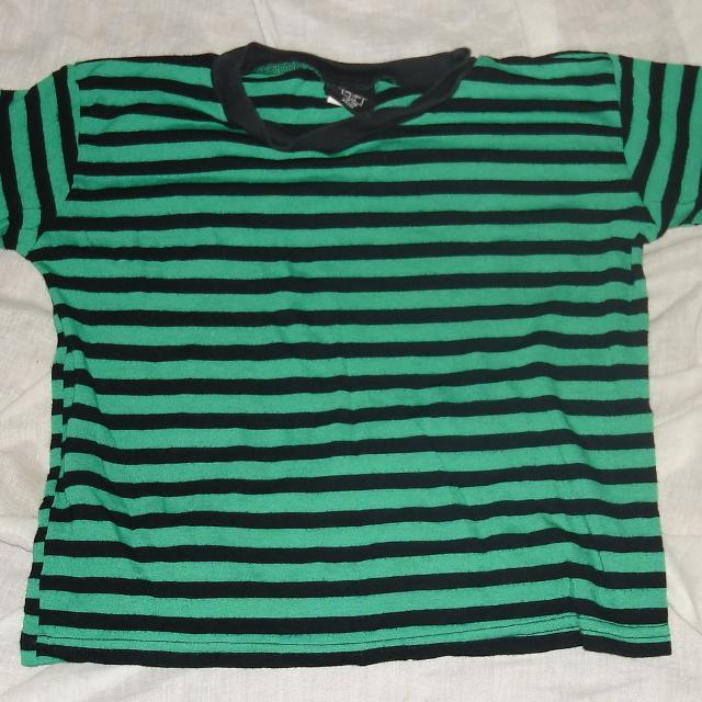 a2fa95e5b1 Best Boys (or Girls) Green Black Striped Shirt for sale in Metairie,  Louisiana for 2019