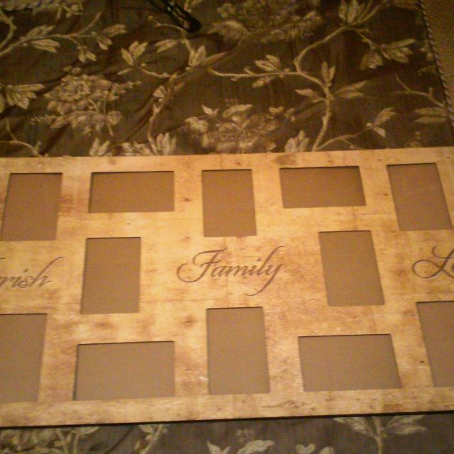 Find more Large Picture Frame Says Cherish Family Love for sale at ...