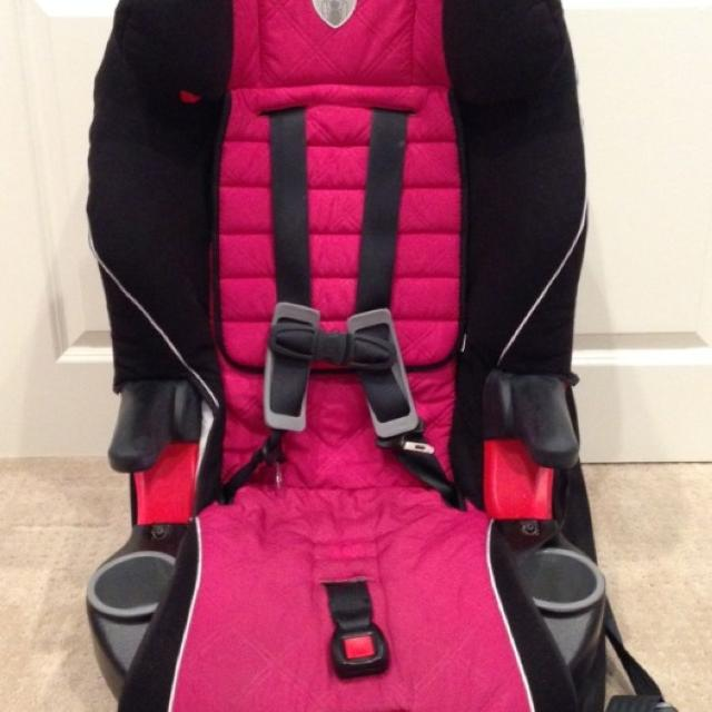 Used Britax Frontier 85 Booster Seat W 5 Point Harness