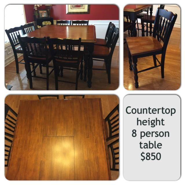 Best Person Counter Top Height Dining Table H X - 4 person counter height table