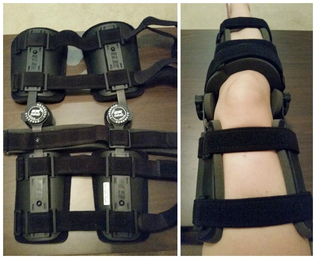 gii rehab knee brace instructions