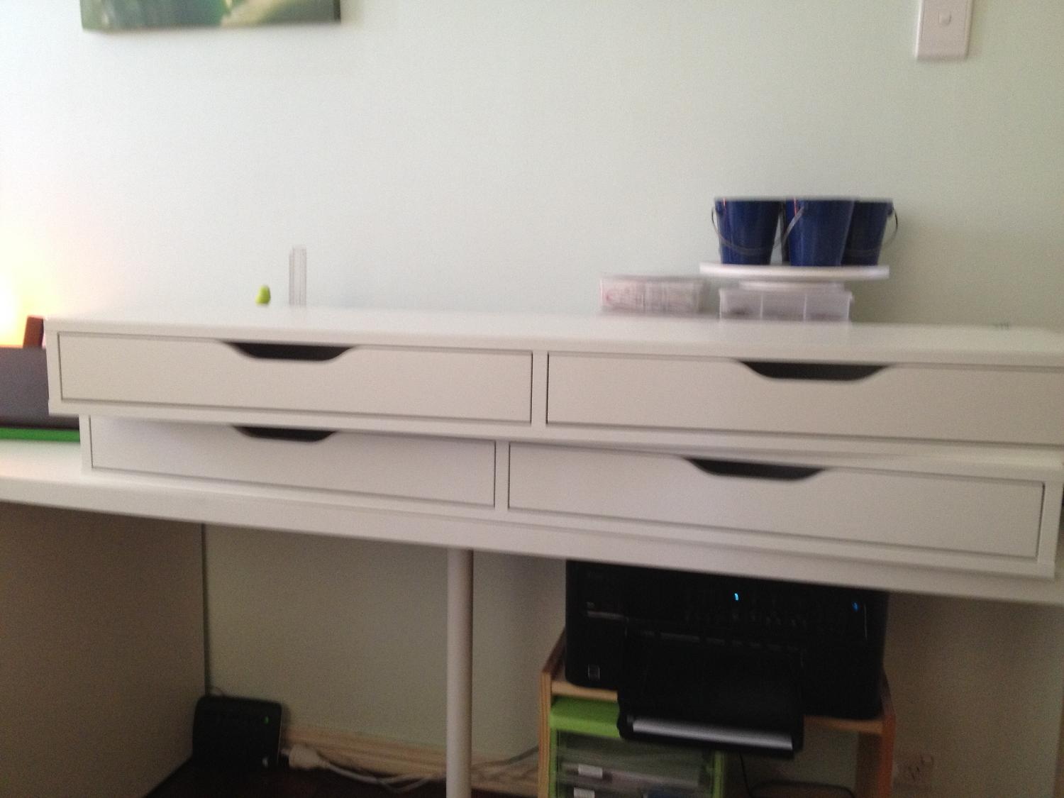 Best Ikea Ekby Alex Shelf With Drawers For Sale In Gumdale Queensland For 2018