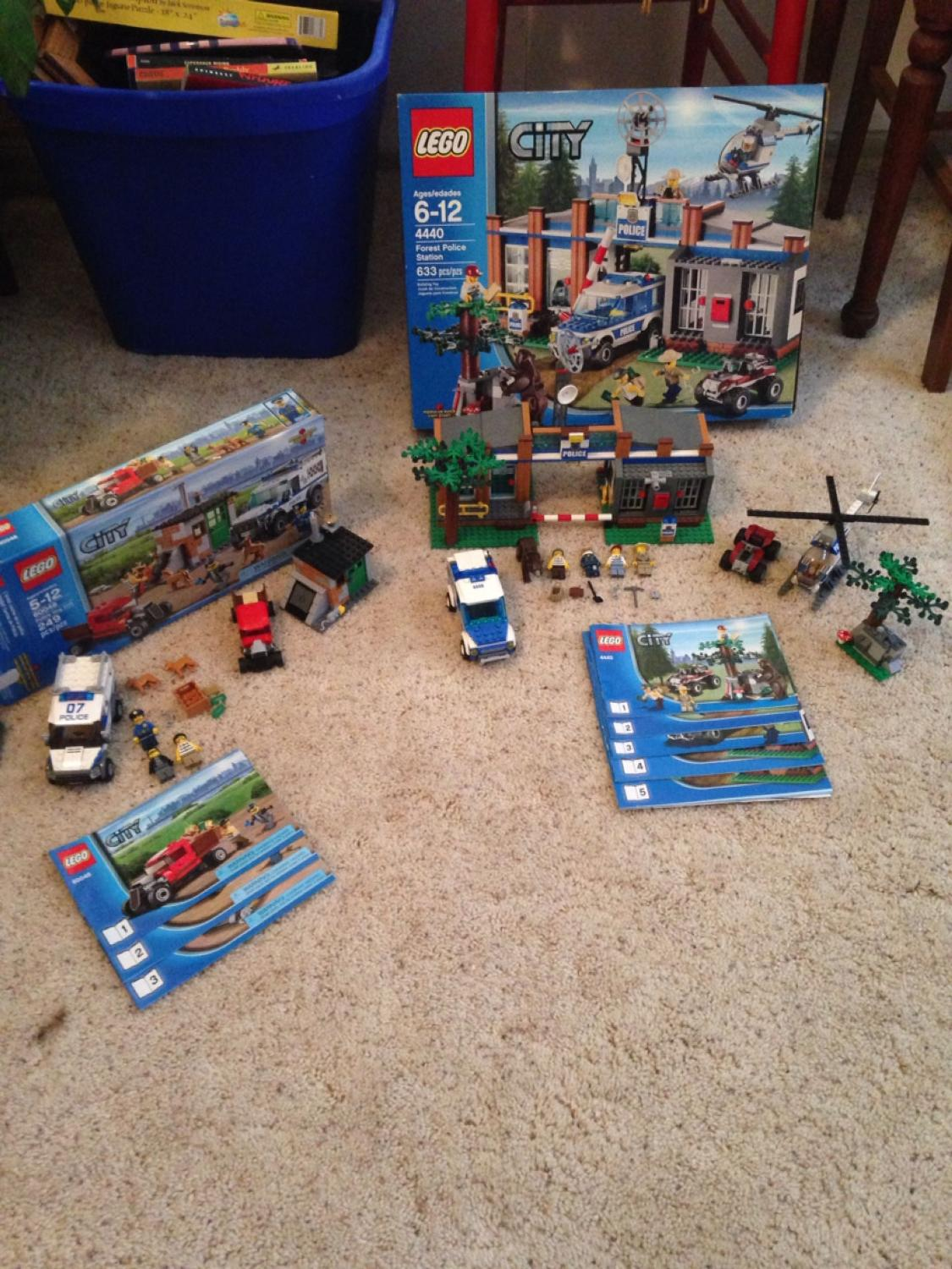 Best Lego City Forest Police Station And Lego City Canine Unit For