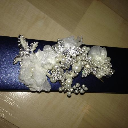Wedding - Bling Bridal Hair Clip/Belt... for sale  Canada