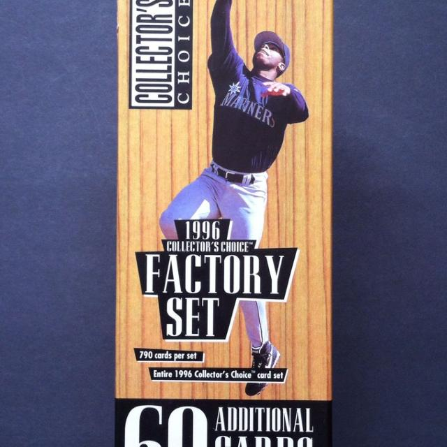 Upper Deck Collectors Choice Entire 1996 Factory Set Baseball Cards