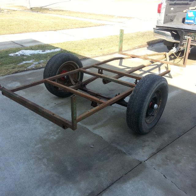 Old Fashioned Trailer Frame For Sale Ideas - Ideas de Marcos ...