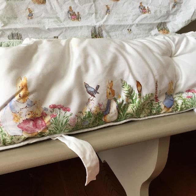Best Pottery Barn Peter Rabbit Crib Bumper And Two Crib