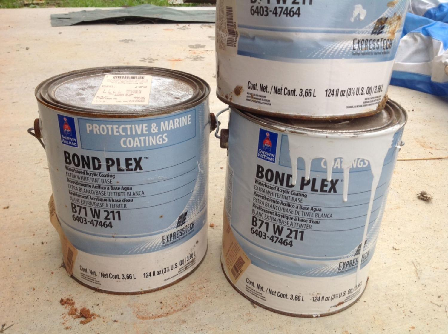 Sherwin Williams Bond Plex Metal Roof Paint