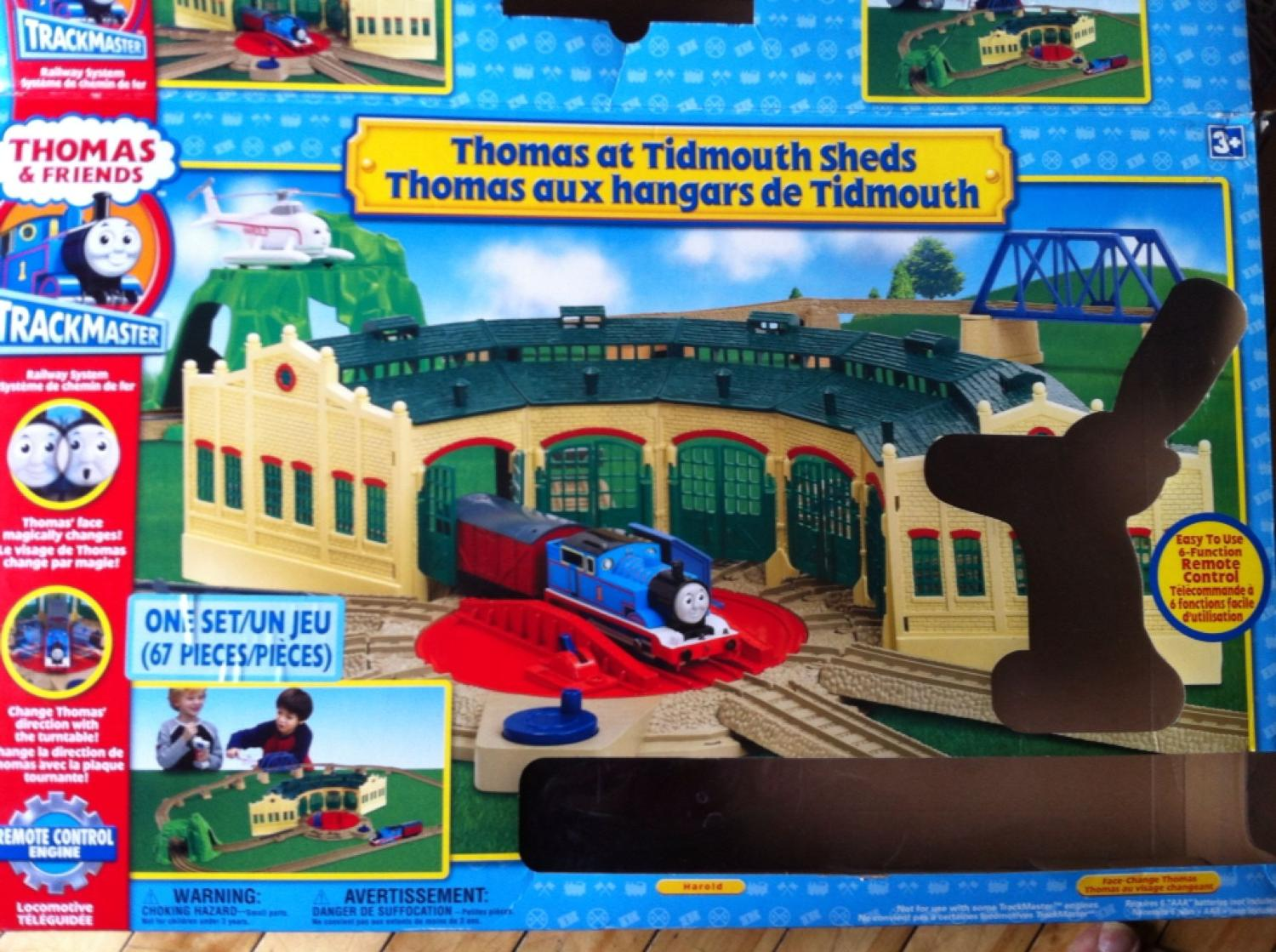 remote control thomas instructions