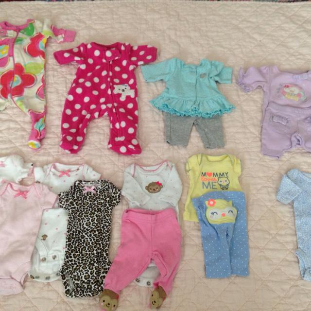 7f4281889 Find more Lot Of Preemie Clothes. Good Condition. Carters ...