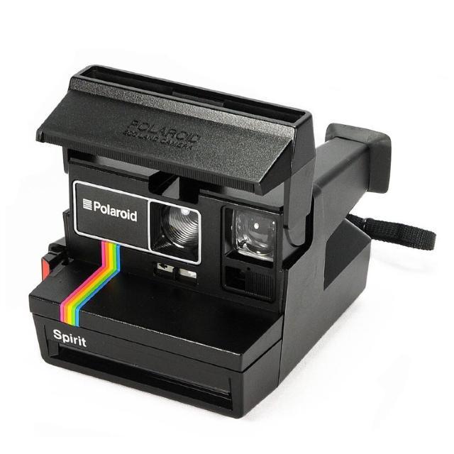 best polaroid spirit rainbow black 600 film instant camera for sale