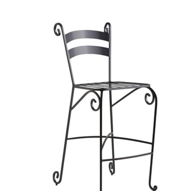 Find More Pier 1 Belleforte Wrought Iron Bar Stool Excellent