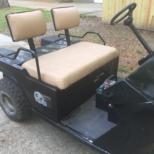 Best Melex Gas Golf Cart 1980s Model for sale in Mandeville ... on brick cart, roofing cart, moving cart, drywall cart, material cart, firewood cart, portable air compressor cart, door cart, construction cart, paper cart, shopping cart, sand cart, build a rolling shop cart, panel cart, 2 wheel cart, stone cart, aluminum cart, cardboard cart, wood cart, concrete cart,