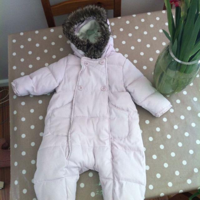 abf8b1131a6b Best Zara Baby Girl Pram Suit. Size 6 Months. for sale