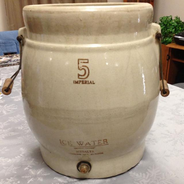 Best 5 Gallon Medalta Water Crock Ice Water Cooler For