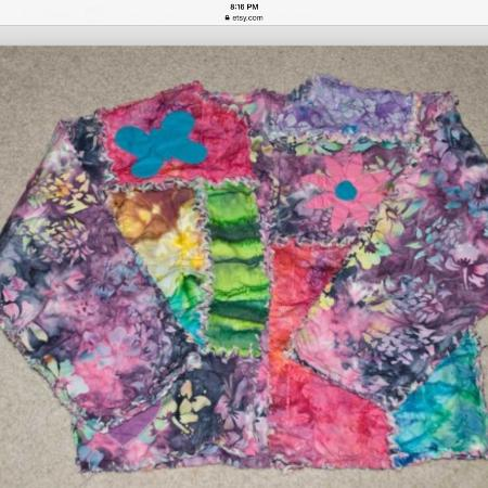 Rag Quilt Jacket for sale  Canada