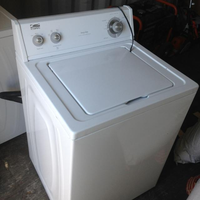 4 Year Old Washer And Dryer Set Estate Brand Excellent Condition Sold House
