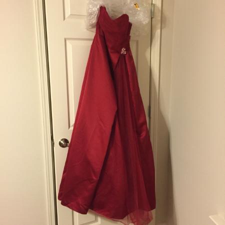 a8fc10a0caa Homecoming Court or Prom Dress · Size 4 Apple Color From David s Bridal