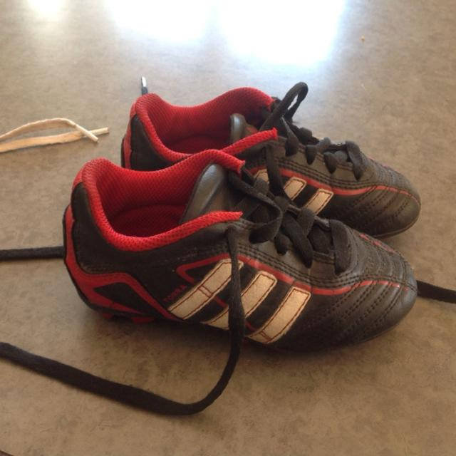 b360ccde08 Find more Adidas Soccer Cleats Size 9.... Great First Pair Of Soccer ...
