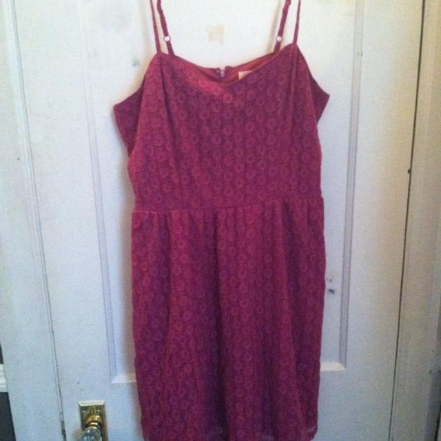 f0d9235c61 Best Plus Size Target Mossimo Purple Eyelet Dress Xxl (never Worn) for sale