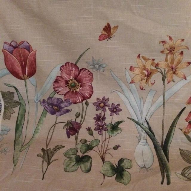 find more authentic waverly glorious garden scotch guarded fabric