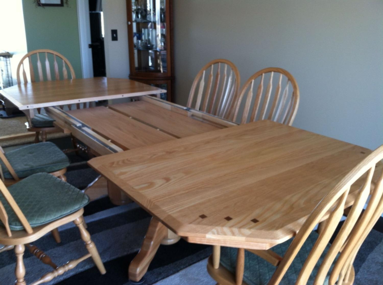 Handmade Amish Oak kitchen table