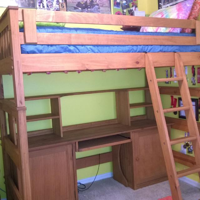 Twin Size Loft Bed From Pier 1 Kids
