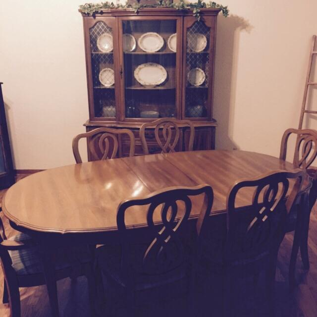 Office Cabin Interior Design, Best 1950 S French Provincial Dining Room Set For Sale
