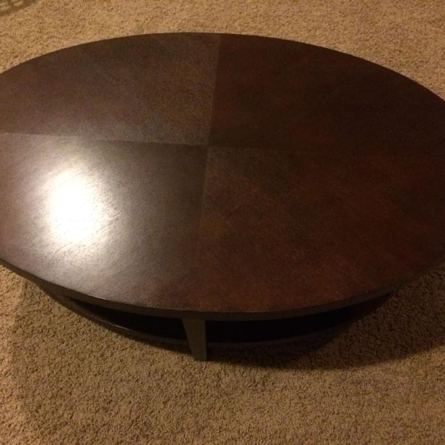 Crate And Barrel Oval Coffee Table Modern Tables