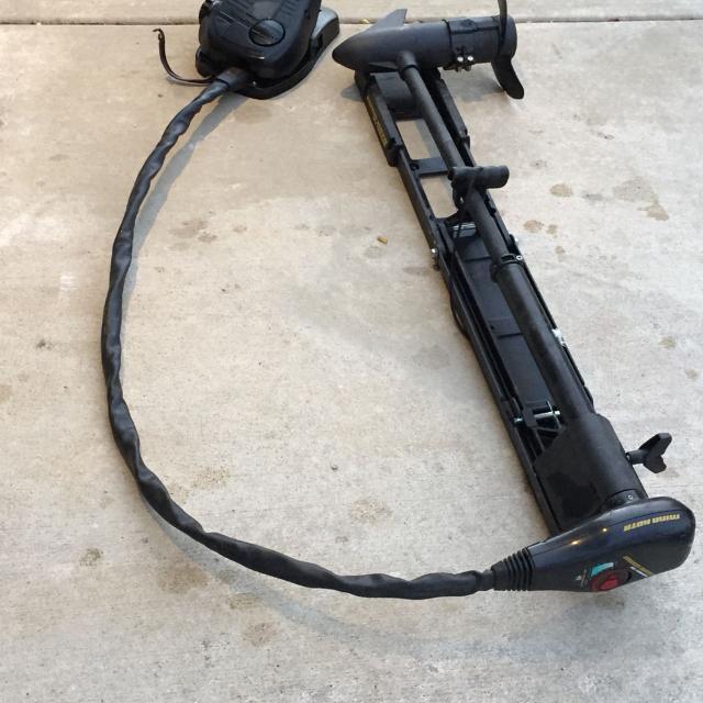 Find more minn kota all terrain trolling motor bow mount for Minn kota 40 lb thrust trolling motor