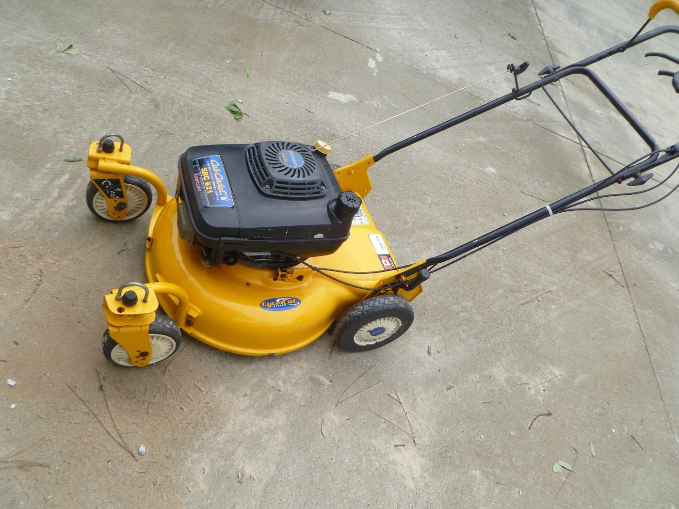 Find More Cub Cadet Src 621 6 Speed Self Propelled Mower For Sale At Up To 90 Off