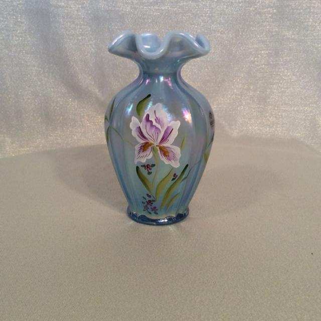Best Bill Fenton Vase Hand Painted By I Watson For Sale In Ajax