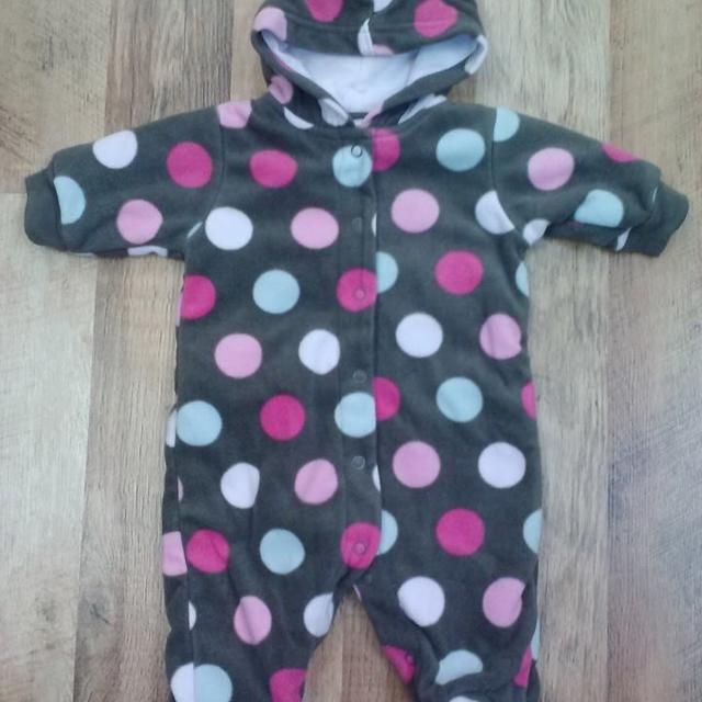 731acdad0 Best Carters Brown Polka Dot Snowsuit 3 Mo   Clean   Smoke Free Home ...