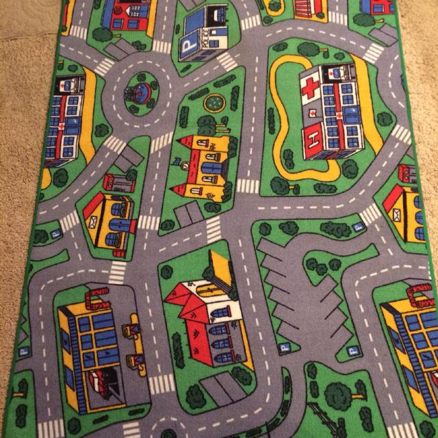 Best Toy Car City Rug Super Clean 8 By 5 Non Smoking Home For