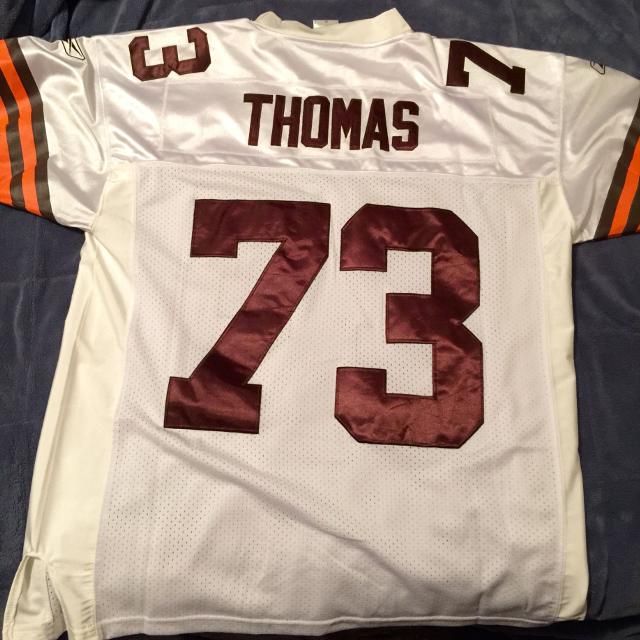 various colors 798d3 ed2f6 Cleveland Browns #73 Joe Thomas jersey
