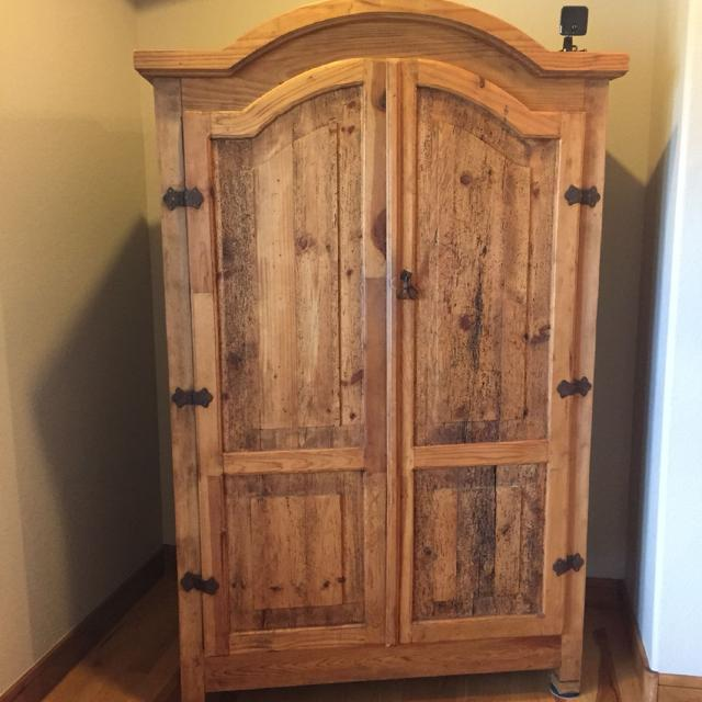 Best Pottery Barn Rustic Armoire Great Condition Being