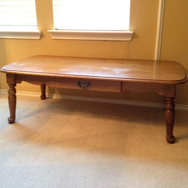 Vintage Maple Coffee Table: Find More Kling Colonial Solid Maple Antique Coffee Table
